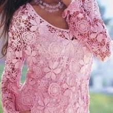 Fique na moda com as blusas de crochê