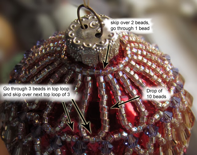How to change any of my necklace patterns into an ornament cover