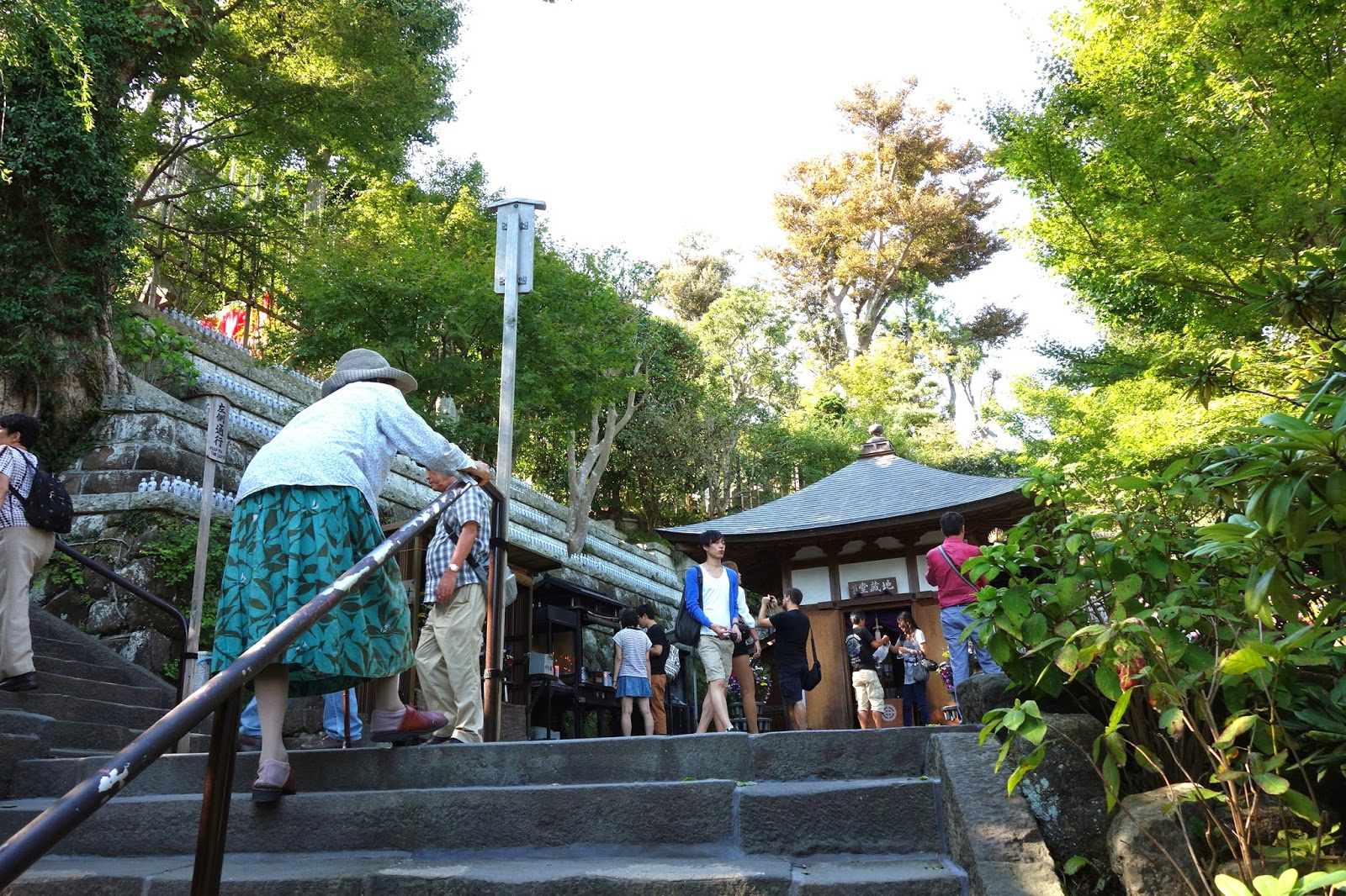 Hasedera 長谷寺 temple Hase Temple kamakura japan tour trip
