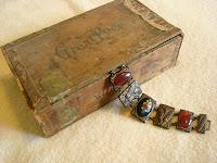 Vintage Metal Renaissance Bracelet by hotGlued