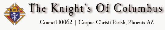 Knight's Of Columbus Council 10062