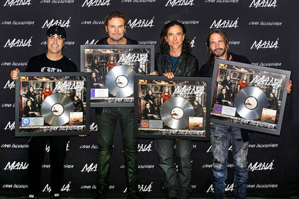 Maná-recibe-disco-platino-nuevo-material-discográfico-Cama-Incendiada