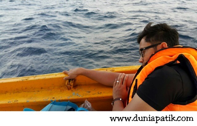 Ahmad Fauzi Aryaan Mabuk Laut?