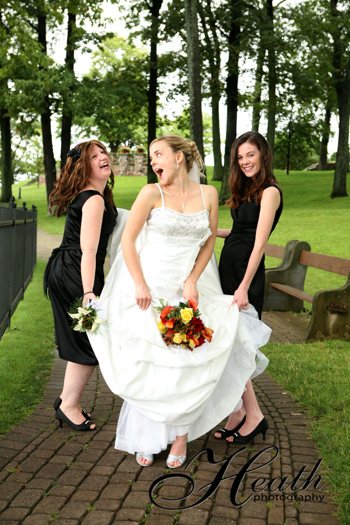 wedding at boldt castle heath photography