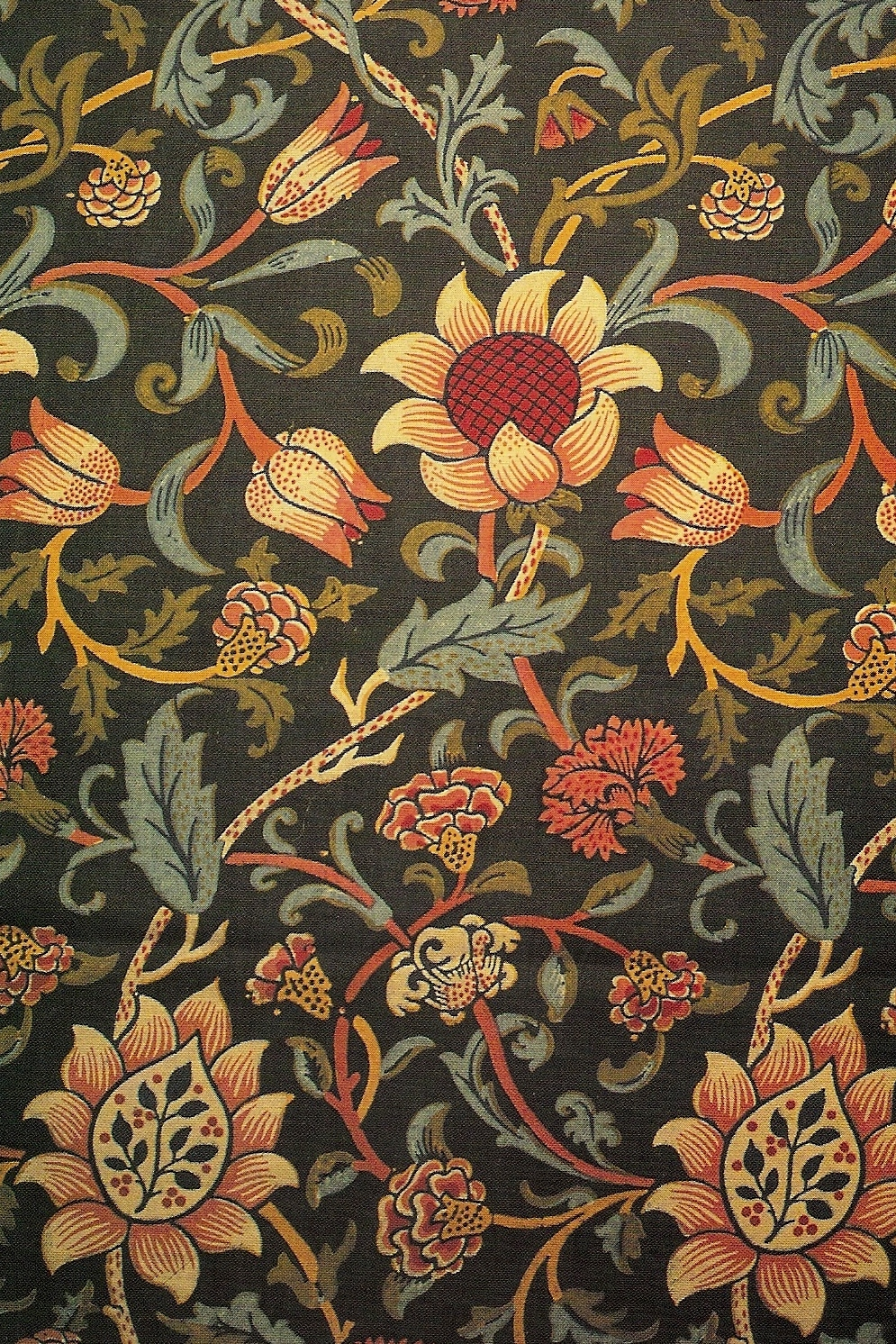 Buttsville william morris for Arts and crafts style prints