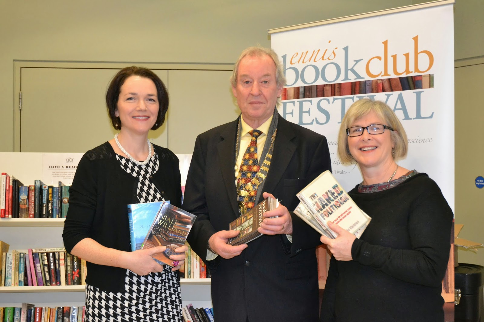 Stellar line-up confirmed for Ennis Book Club Festival