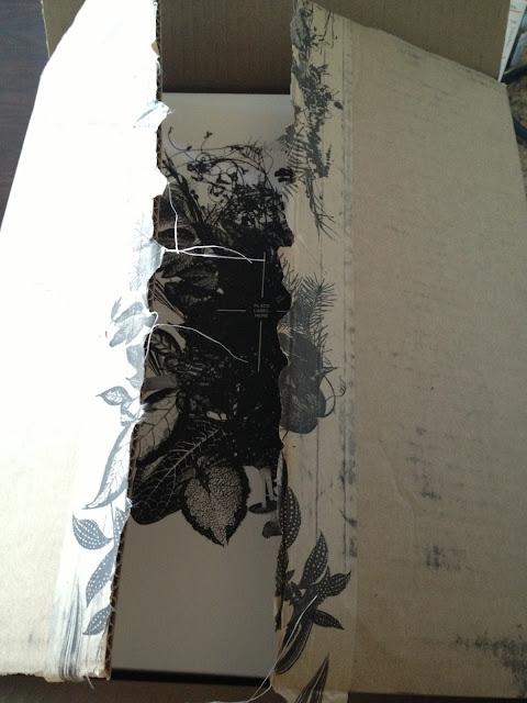 Aritzia shipment inner box