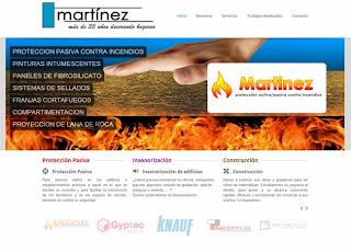 Web Grupo Martínez