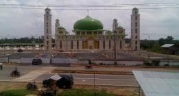 Sukandar Akan Percantik Masjid Agung Al Ittihad Muara Tebo