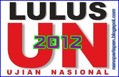Ujian Nasional 2012
