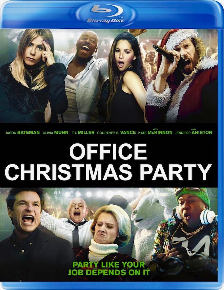 OFFICE CHRISTMAS PARTY on bluray