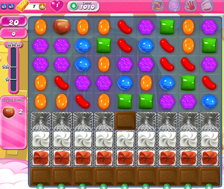 Candy Crush Saga 1010