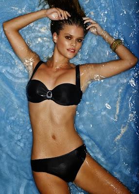 Nina Agdal hot show off her sexy body for BonPrix sexy bikini model photo shoot