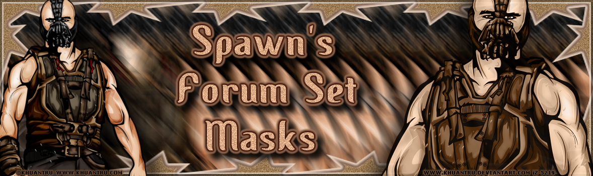 Spawns Forum Set Masks