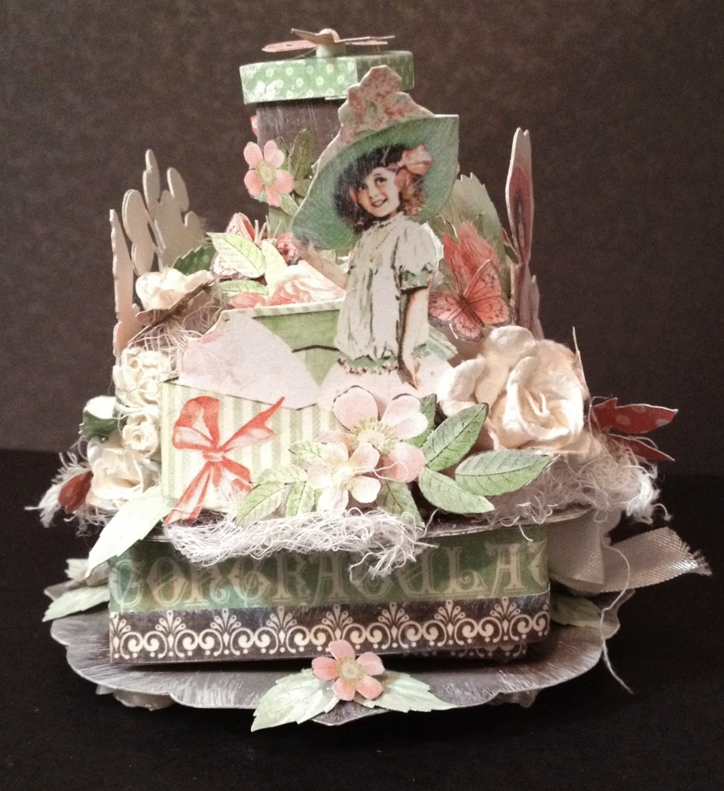 annes papercreations Graphic 45 Time to flourish and celebrate