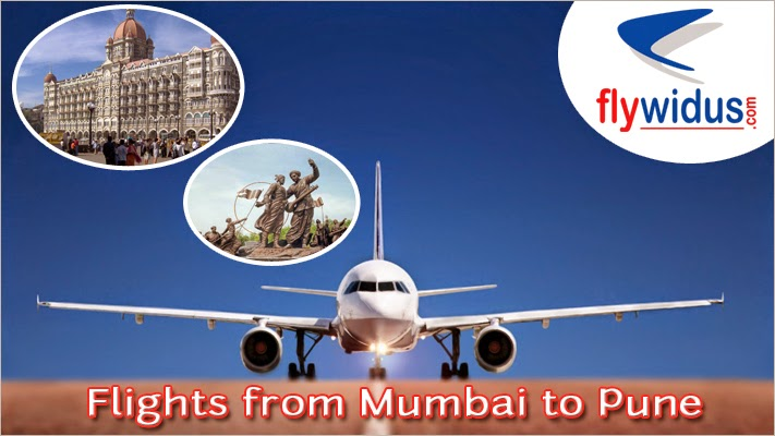 Cheap Flight Tickets from Mumbai to Pune