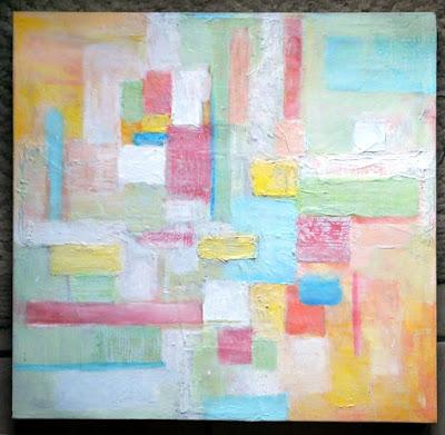 texture, acrylics, pastels