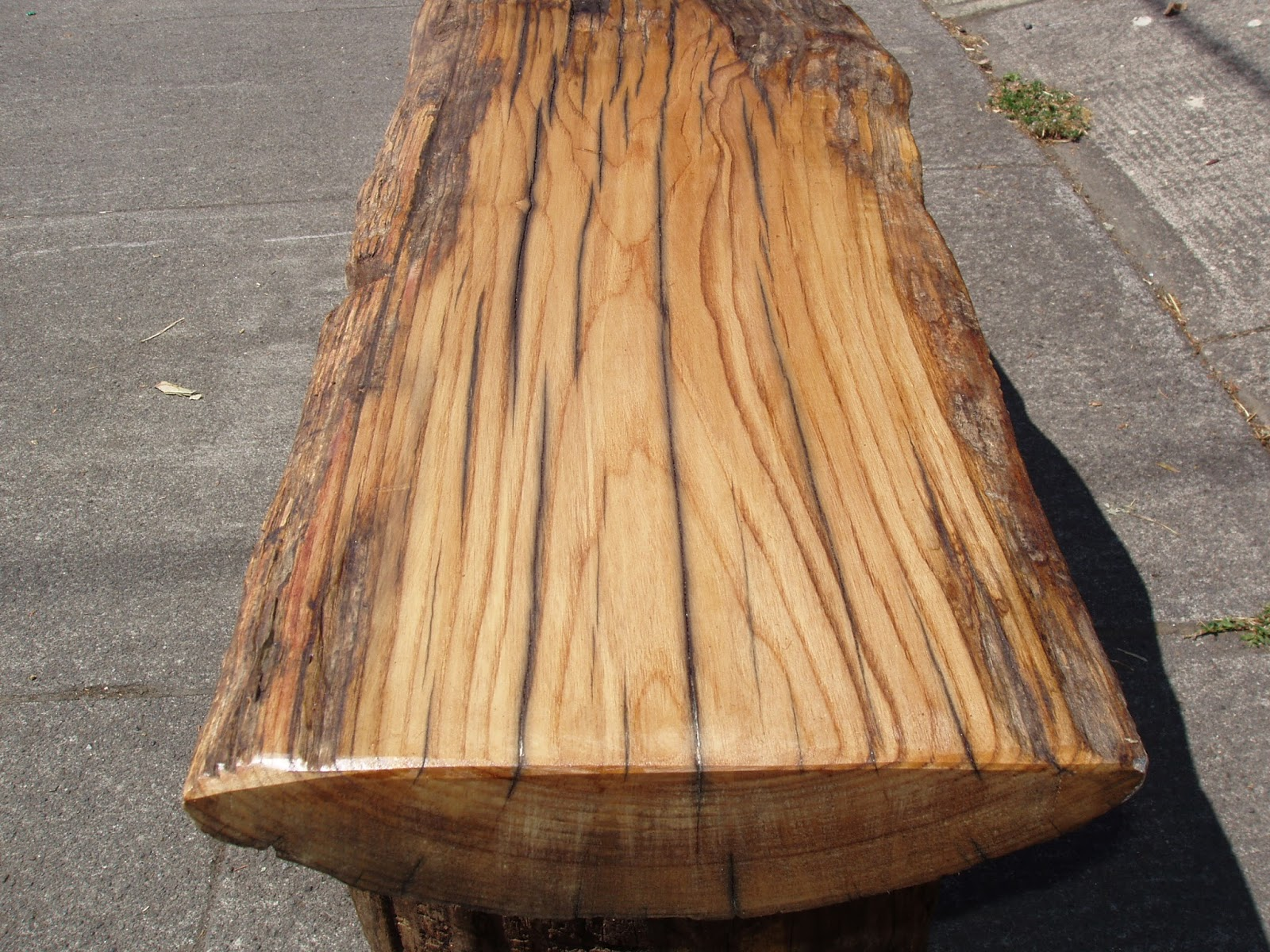 Driftedge Woodworking: Driftwood Red Oak Bench. $295.00.. Full resolution  image, nominally Width 1600 Height 1200 pixels, image with #A16D2A.