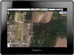 Con MapSearch para Google, tendremos muchas de las funcionalidades , incluyendo la vista de mapa o satélite, la búsqueda de una dirección, la posibilidad de ampliar el mapa con el dedo pellizcar para ampliar, la búsqueda de la ubicación utilizando el GPS vía BlackBerry Bridge y mucho más. MapSearch de Google ya está disponible en la BlackBerry App World para la Tablet BlackBerry PlayBook por un precio alrededor de 3 € y lo puedes descargar desde esta dirección: http://appworld.blackberry.com/webstore/content/43729/?lang=EN Aunque si quieres descargar la versión de prueba gratuita la puedes descargar desde esta dirección: http://appworld.blackberry.com/webstore/content/83365/?lang=EN Fuente:lablackberry