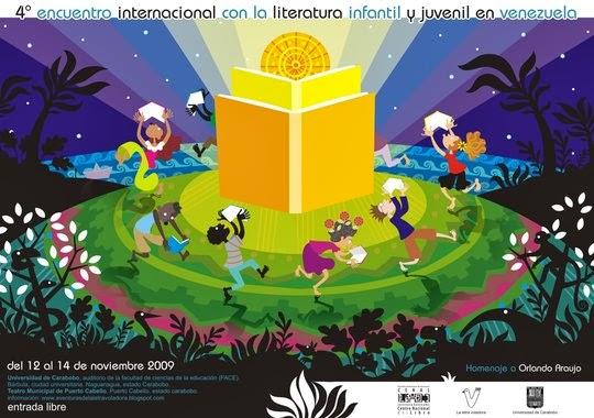 4to Encuentro Internacional con la Literatura Infantil y Juvenil en Venezuela.