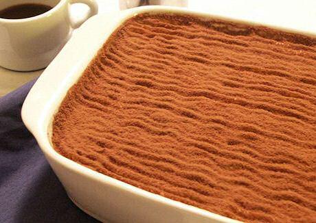 Basis recept voor tiramisu uit SOS Piet dat niet verwatert