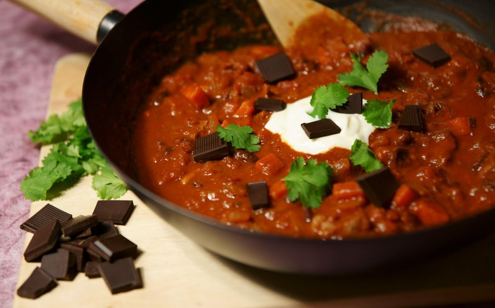 Chocolate chilli con or non carne eile magazine for Adding chocolate to chilli con carne