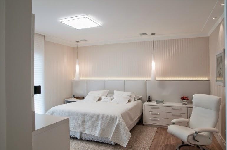 Quartos brancos e off whites maravilhosos – veja modelos e  ~ Tipos De Quarto Num Hotel