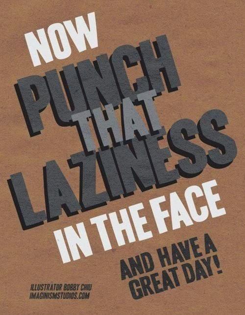 Doeblerghini Bunch:  Punch that Laziness in the face