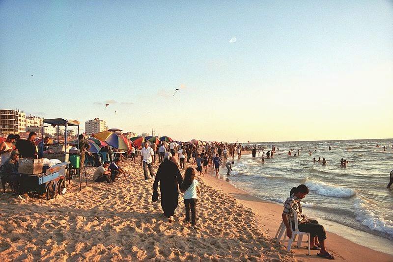 Madinatul Azda, pantai wisata warga Gaza