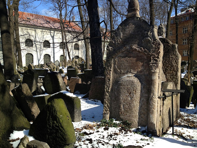 The Old Cemetery in Prague's Jewish Quarter