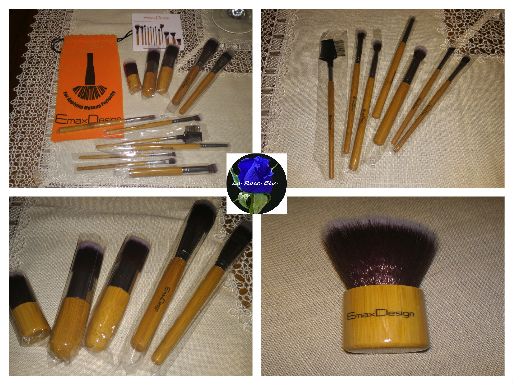 SET 12 PENNELLI MAKE UP EMAXDESIGN