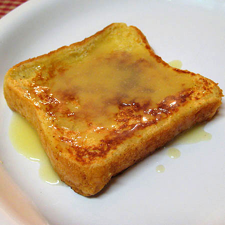 Eggnog French Toast with Eggnog Syrup by Real Mom Kitchen