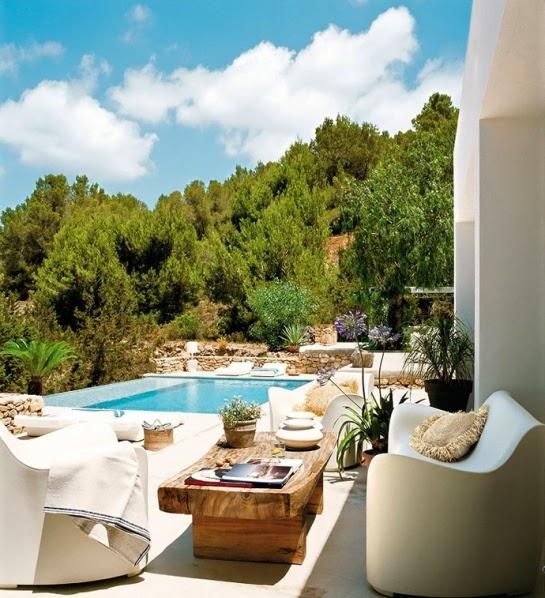 piscina mediterránea