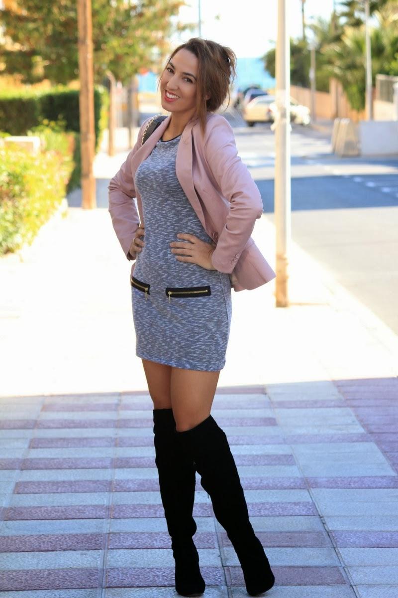 Gray pink black estilo stiletto by leticia p rez - Personal shopper alicante ...