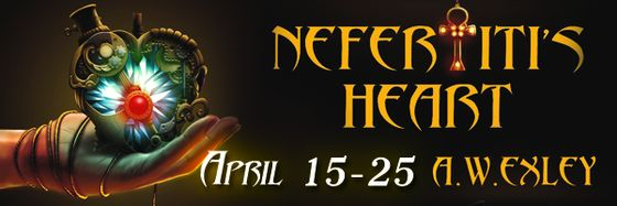 Blog Tour: Nefertiti's Heart by A.W. Exley