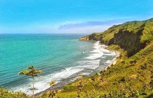 Pantai menganti - tempat wisata di jawa tengah yang indah