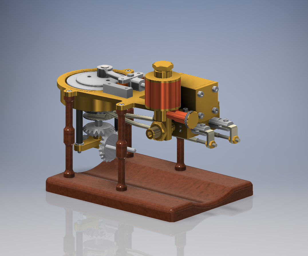 Vltra Machinam Horizontal Marine Engine