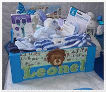 Cajas decoradas bebe