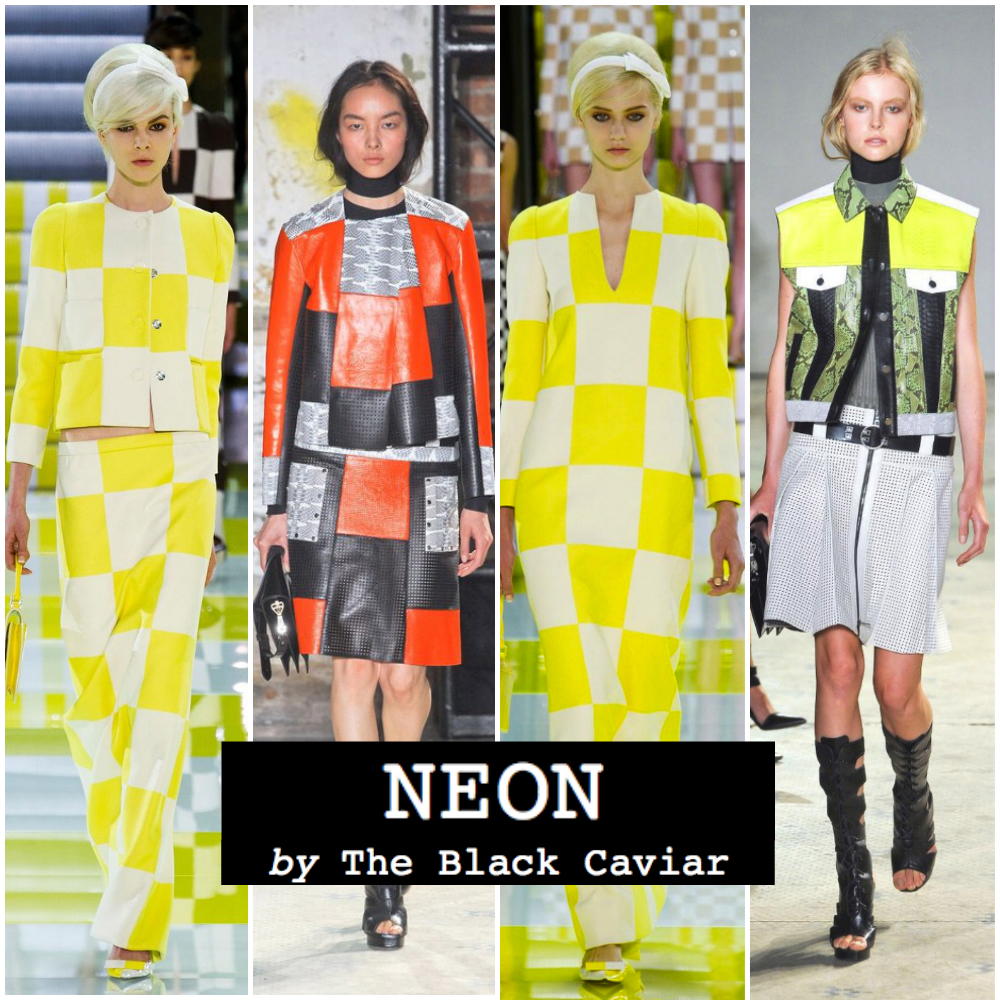 Summer fashion trend 2013: Neon (Louis Vuitton, Proenza Schouler)