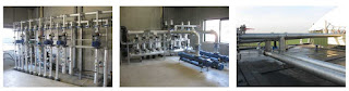 instalacion en acero inoxidable para planta de biodigestion de 2000 KW en Holanda