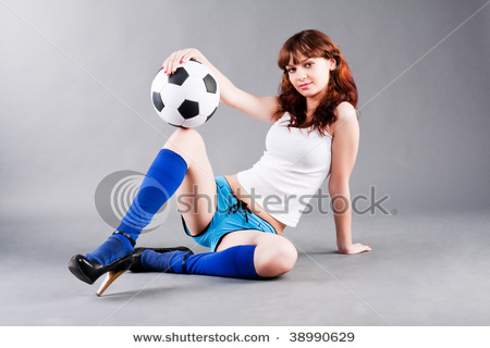 Cute%Girl%With%Football%Soccer