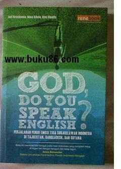 Novel God Do You Know Speach English