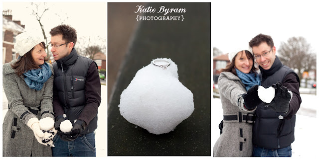 snowy photoshoot, snow couples shoot, engagement ring photograph, snowballs, tynemouth, north east wedding photography, tynemouth priory, beach photoshoot, engagement photoshoot, pre-wedding photoshoot, katie byram photography,