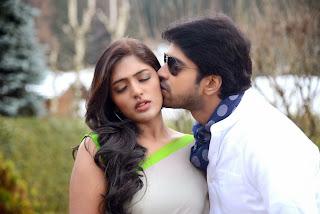 Eesha Romances Allari Naresh in Stunnign Cute lvoely Pics from movie Bandipotu