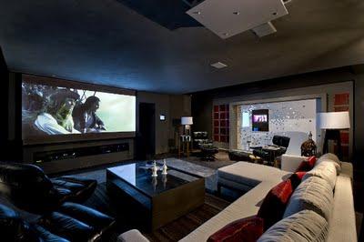 Karimy design de interiores estudo de caso projeto - Sala cinema in casa ...
