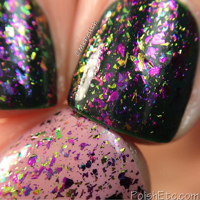 Glitter Daze - Flora Noxia Collection - McPolish - Blooming Mortalis