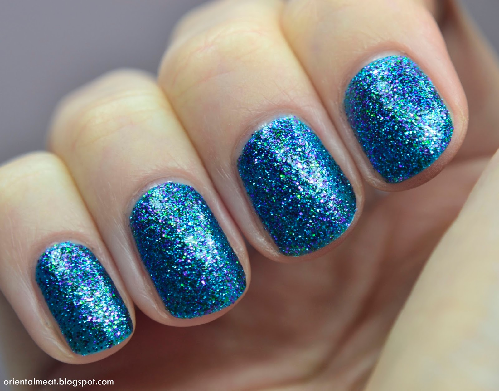 Nicole by OPI-Kendall on the katwalk & snowman