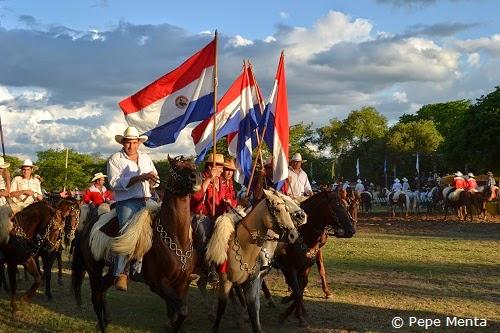 Reiterfest in Paraguay