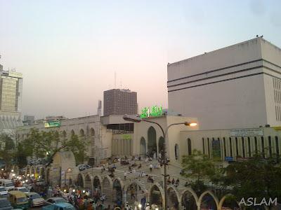 Baitul Mukarram Mosque.