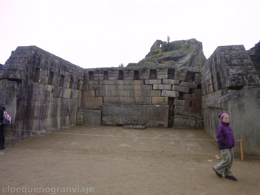Templo sagrado Machu Picchu